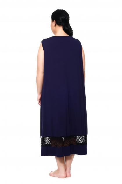 Артикул 15321 - сорочка большого размера - вид сзади