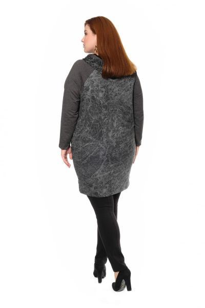 Артикул 301043 - туника большого размера - вид сзади