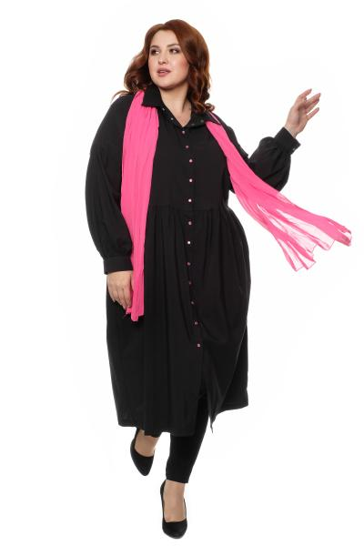 туника-платье с шарфом