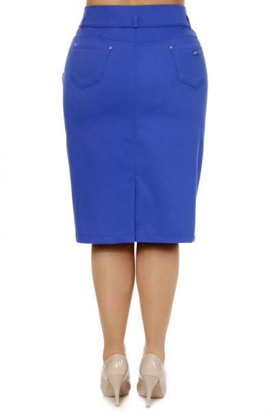 Артикул 305030 - юбка  большого размера - вид сзади