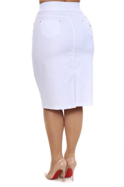 Артикул 305031 - юбка  большого размера - вид сзади