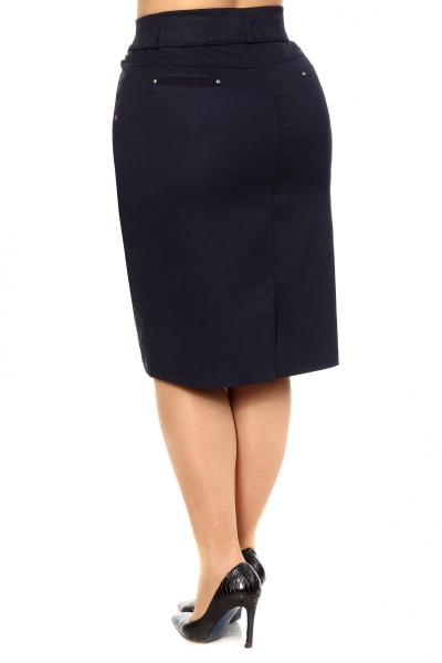 Артикул 305035 - юбка  большого размера - вид сзади