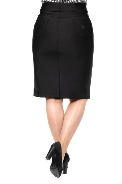 Артикул 305081 - юбка большого размера - вид сзади