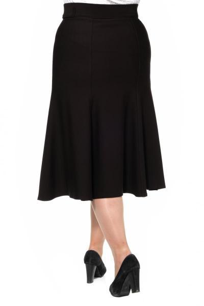 Артикул 301066 - юбка большого размера - вид сзади