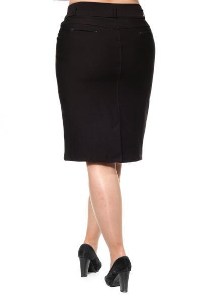Артикул 301076 - юбка большого размера - вид сзади