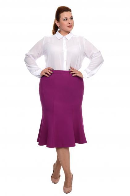 Артикул 15411 - юбка большого размера