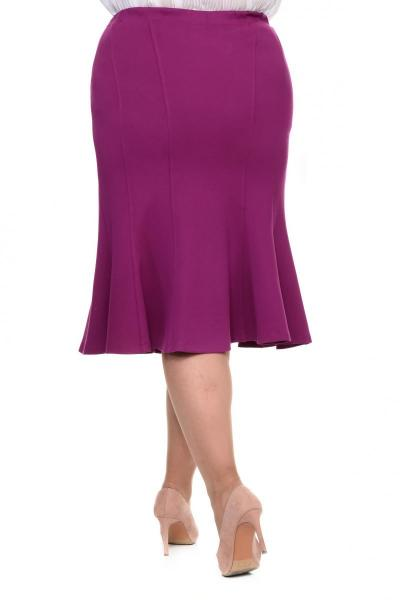 Артикул 15411 - юбка большого размера - вид сзади