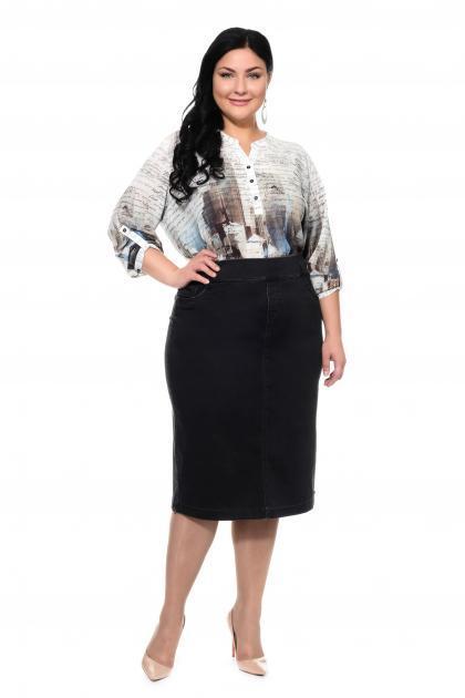 Артикул 305087 - юбка большого размера