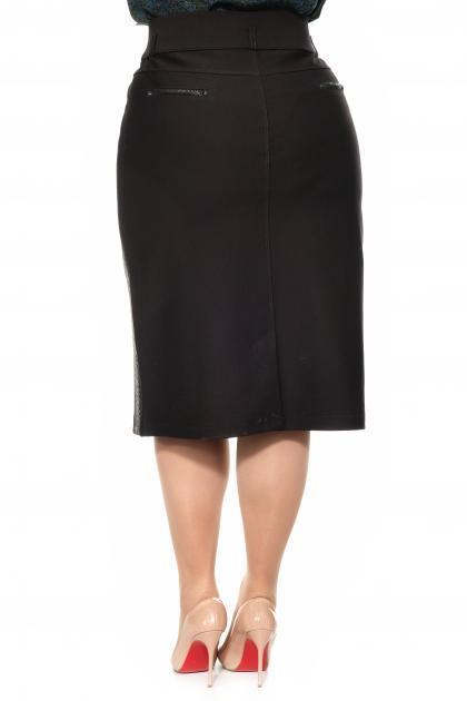 Артикул 305096 - юбка большого размера - вид сзади