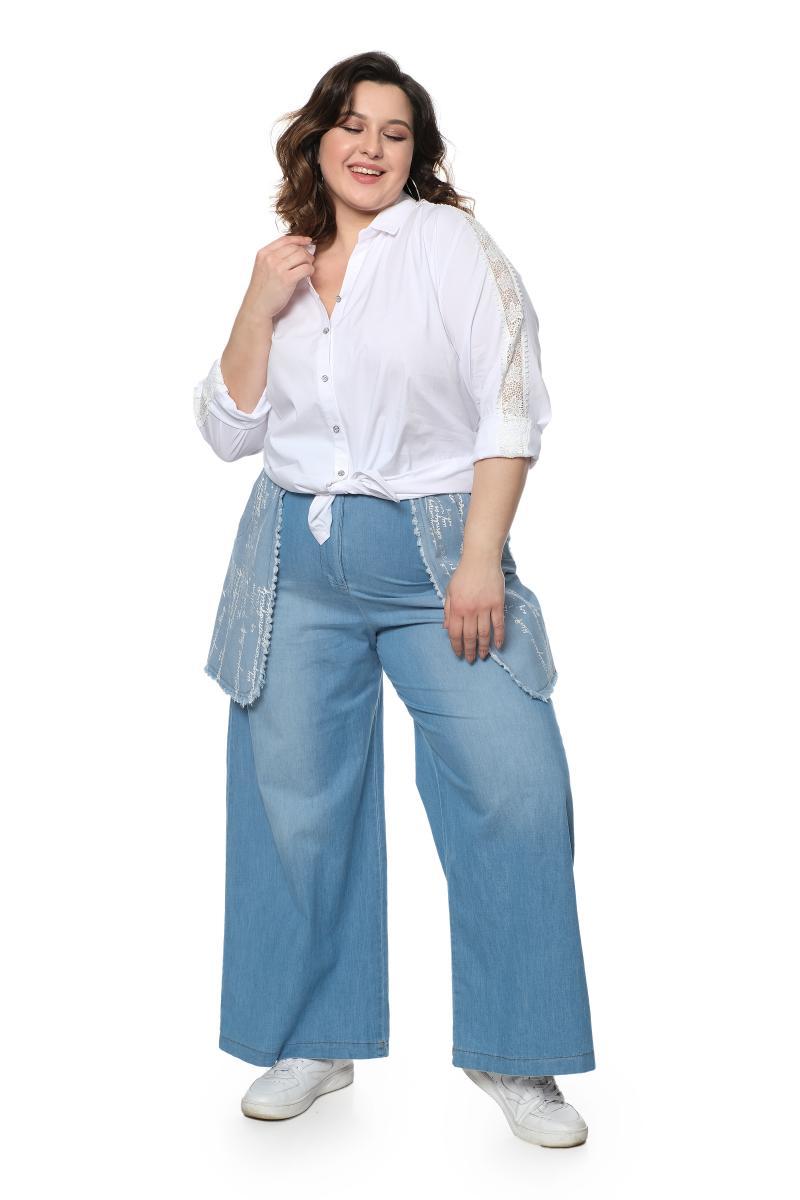 джинсовые шаровары
