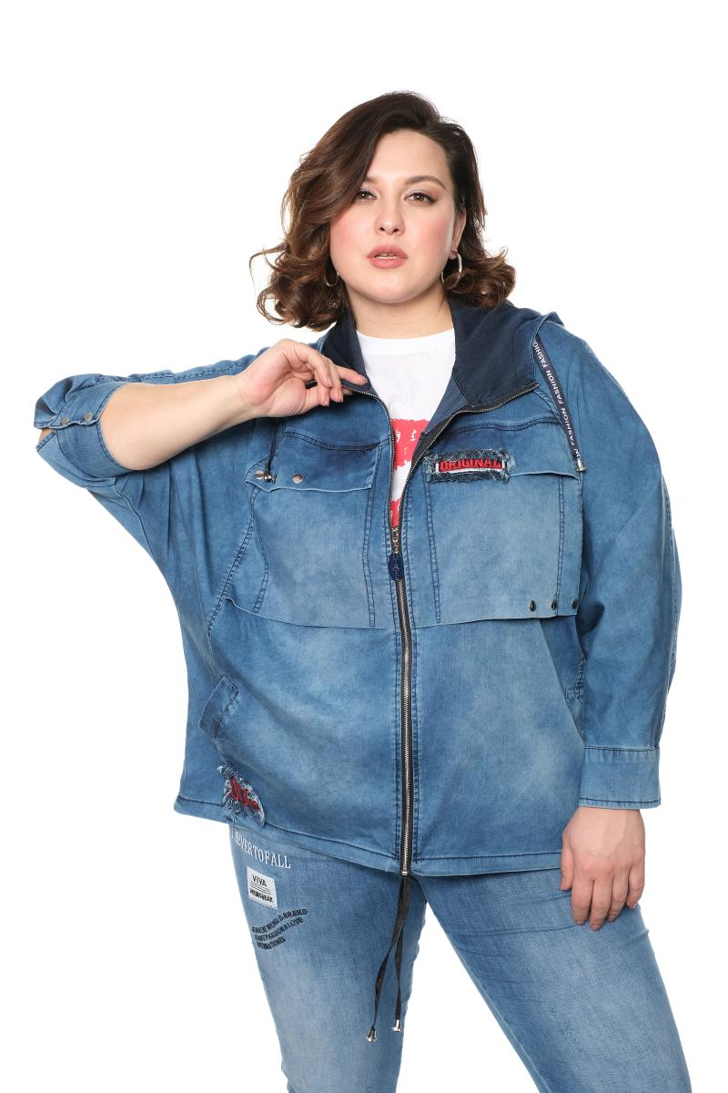 Арт. 821595 - джинсовый жакет