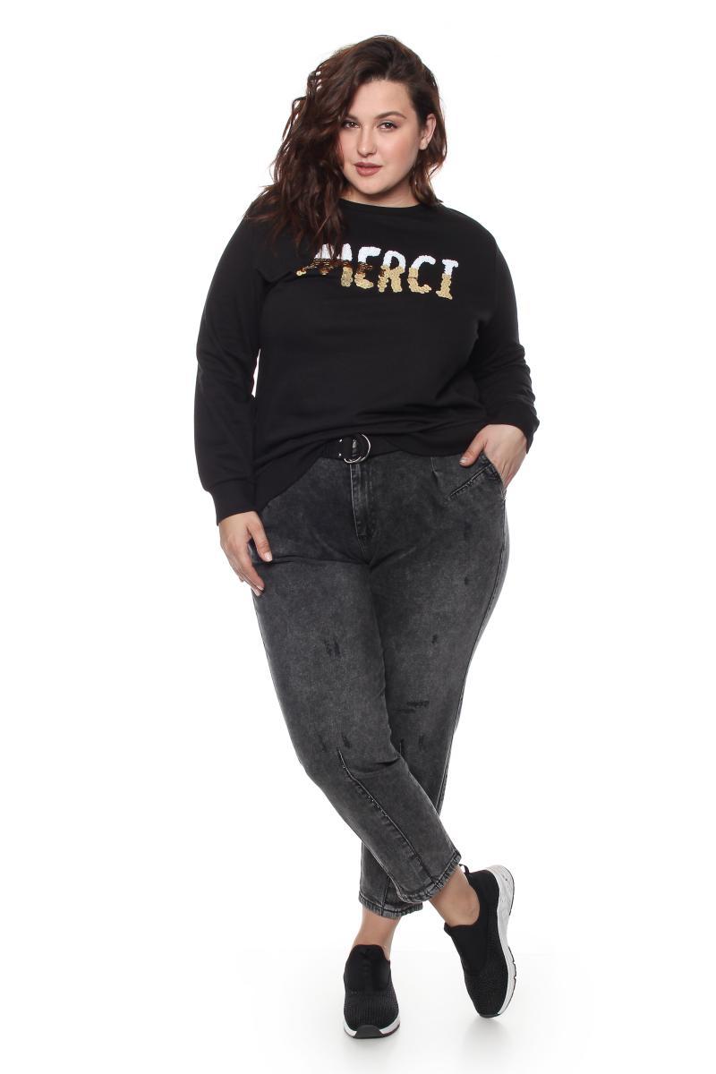 джинсы с ремнем