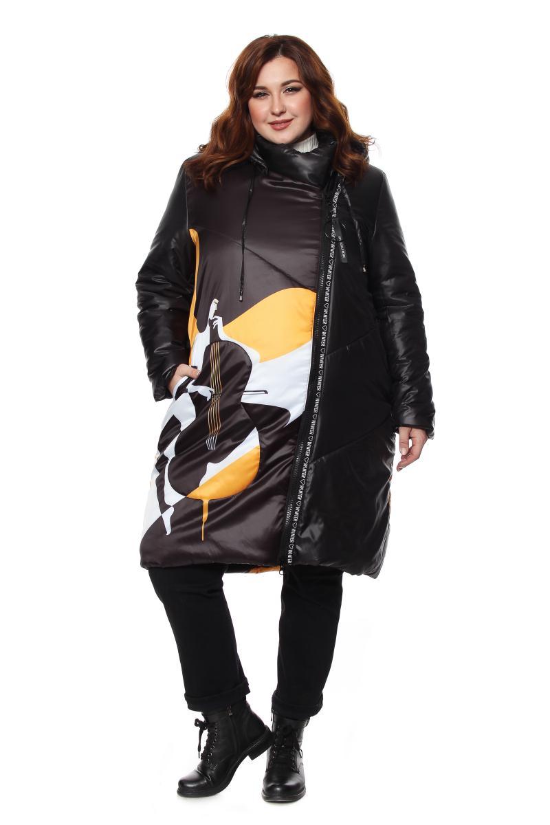 Артикул 604289 - пальто большого размера