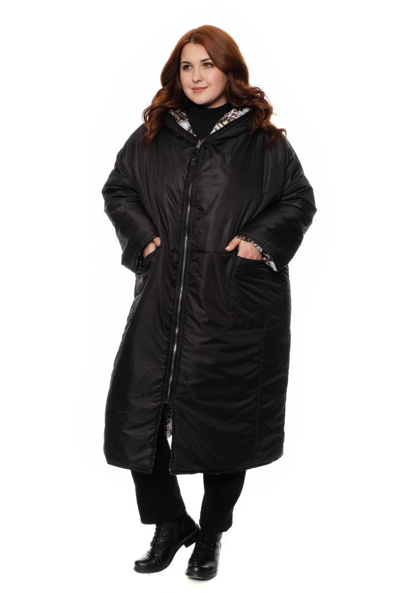 пальто двухстороннее