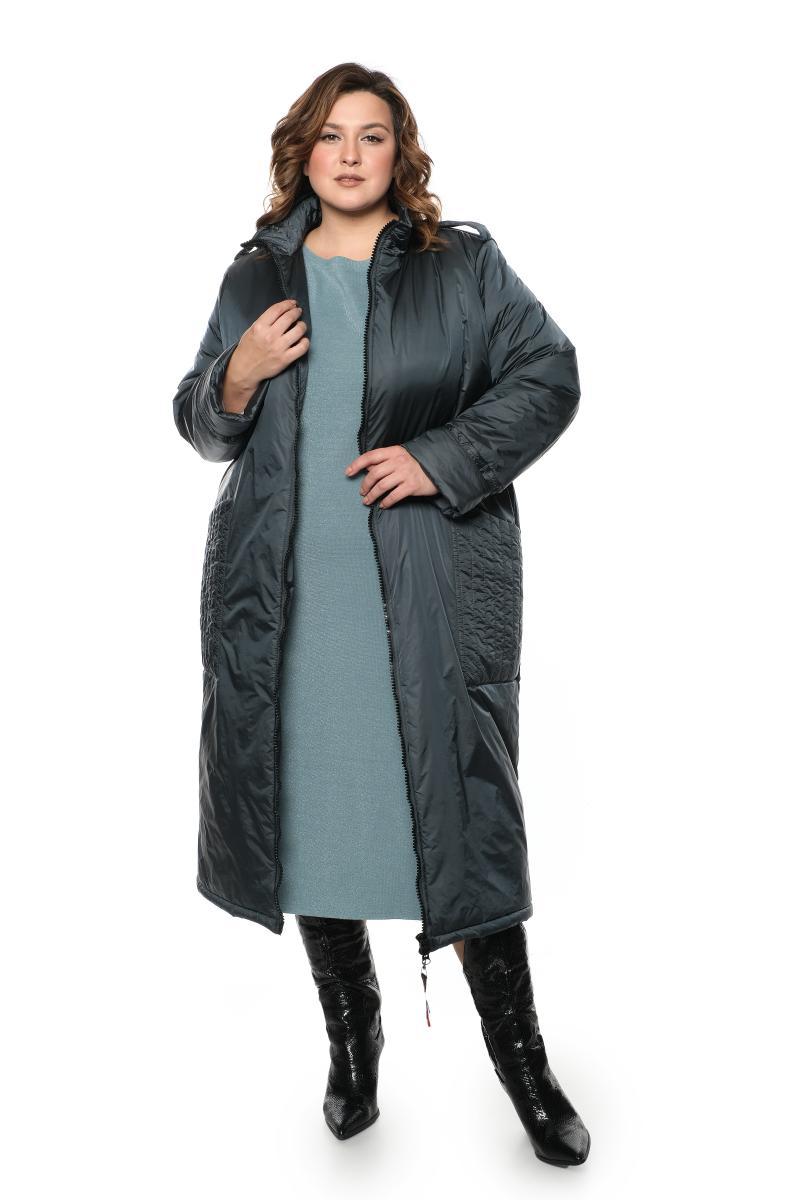 пальто с жилеткой