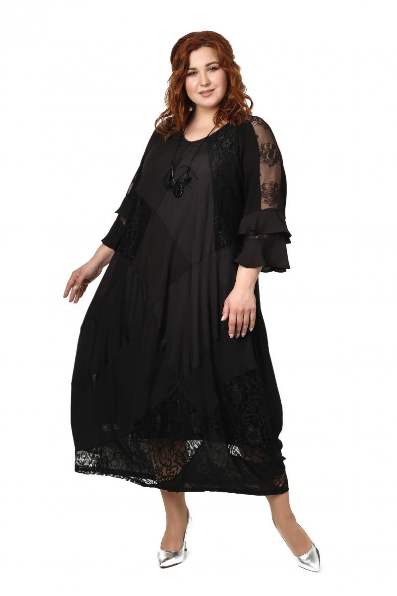 Артикул 506725 - платье большого размера