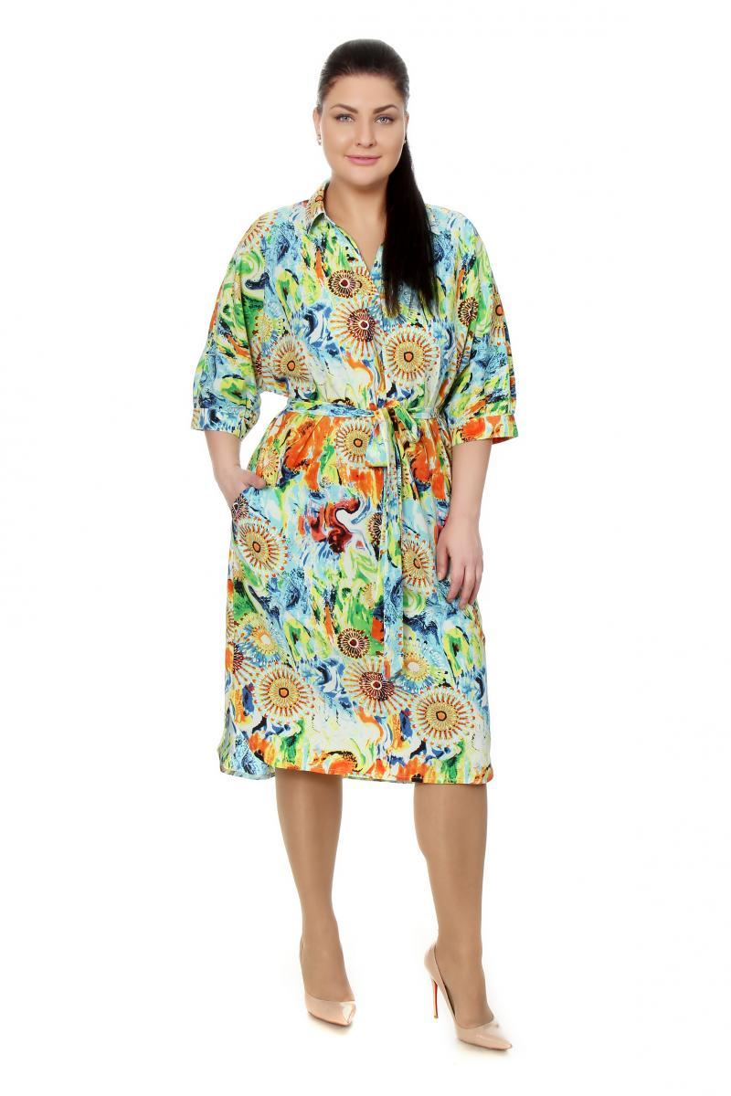Артикул 17313 - платье большого размера