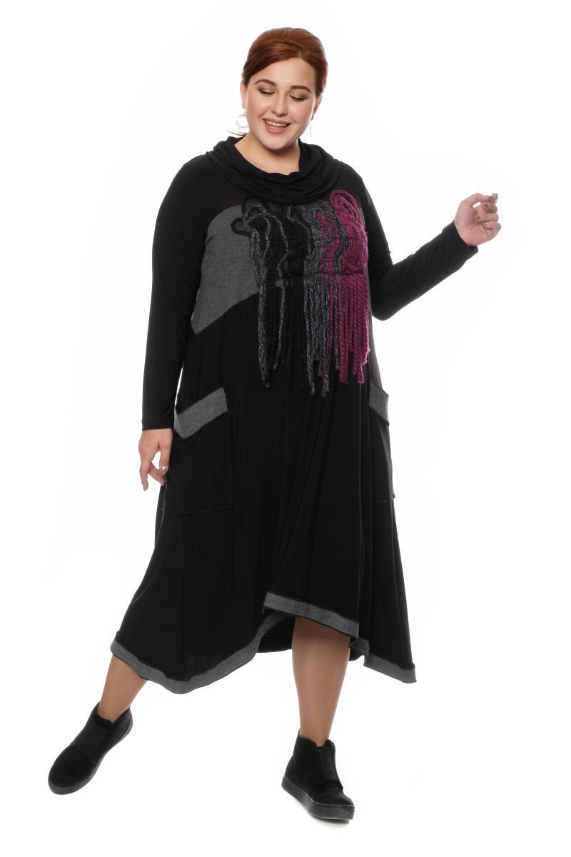 платье с хомутом