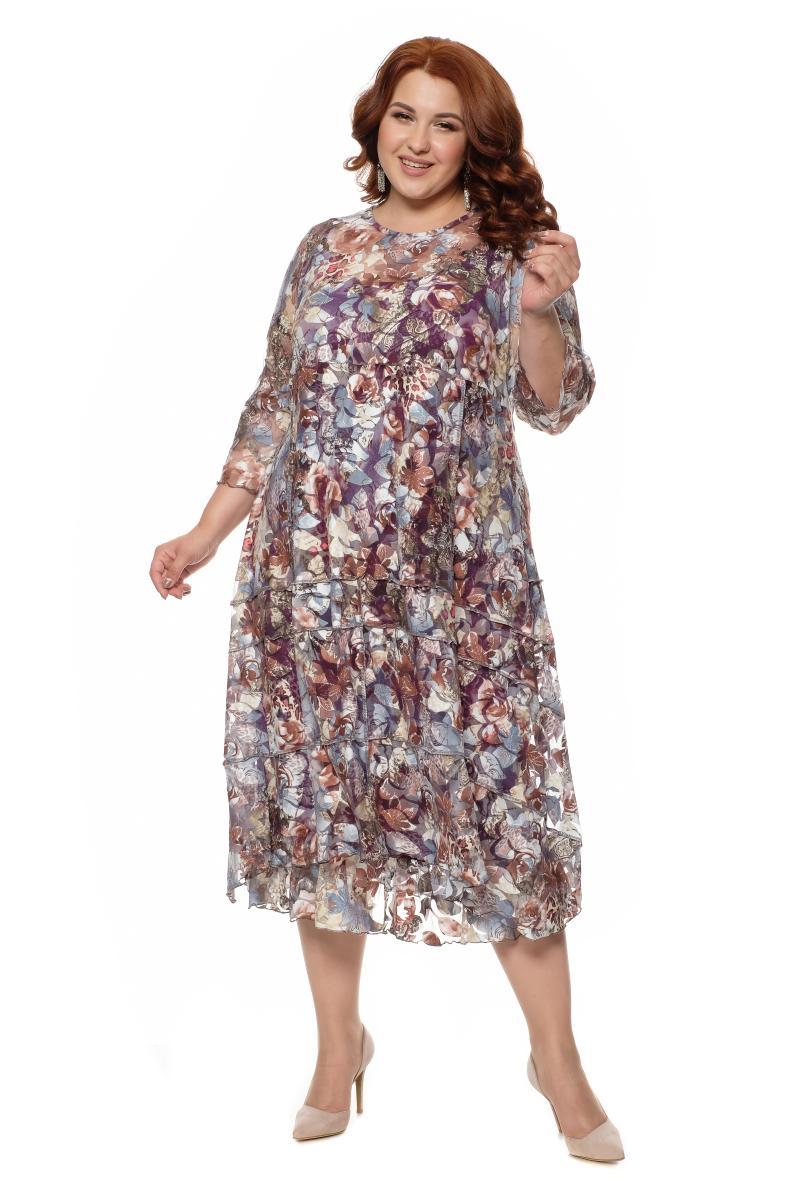 Арт. 18332 - Платье с сорочкой