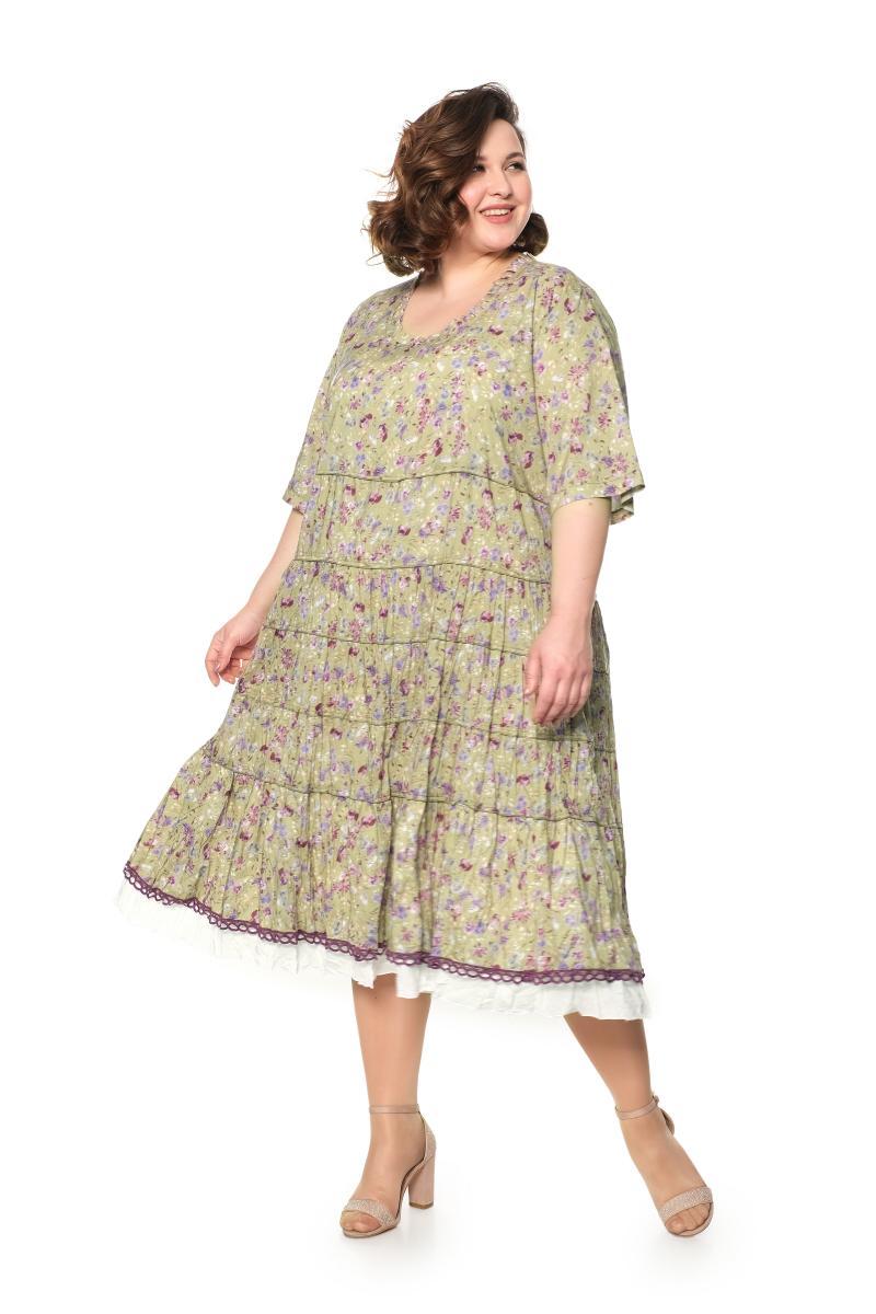 Арт. 807248 - Платье с сорочкой