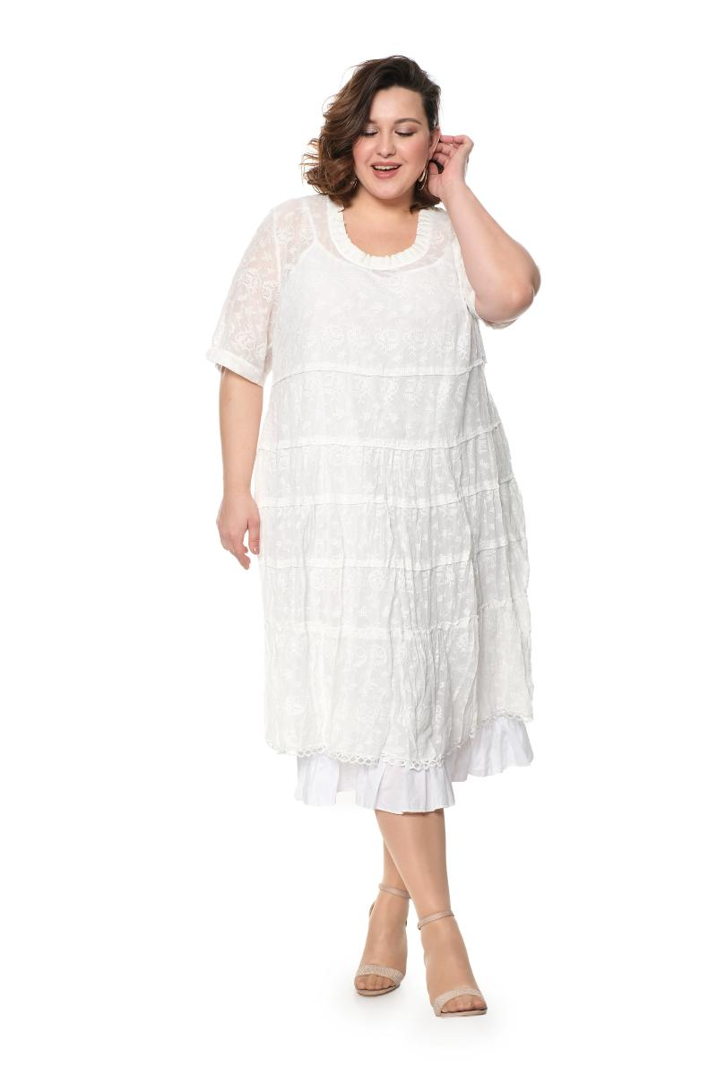 Арт. 807246 - Платье с сорочкой