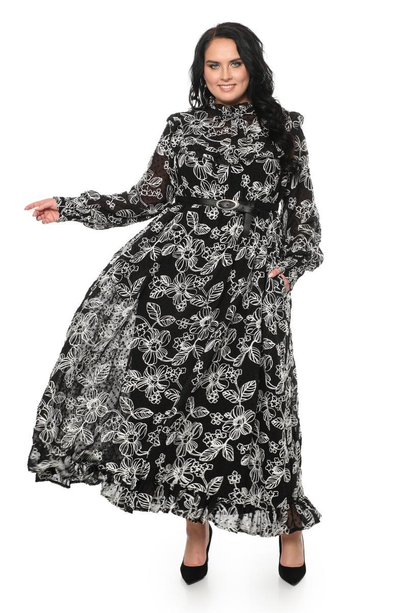 Арт. 806311 - Платье с сорочкой