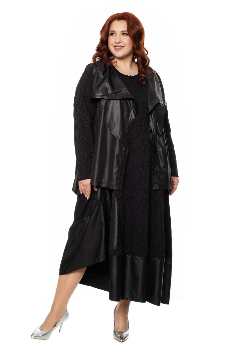 платье с жилеткой
