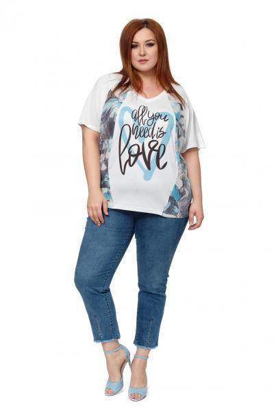 Артикул 503489 - джинсы большого размера