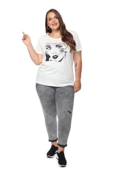 Артикул 708035 - джинсы большого размера