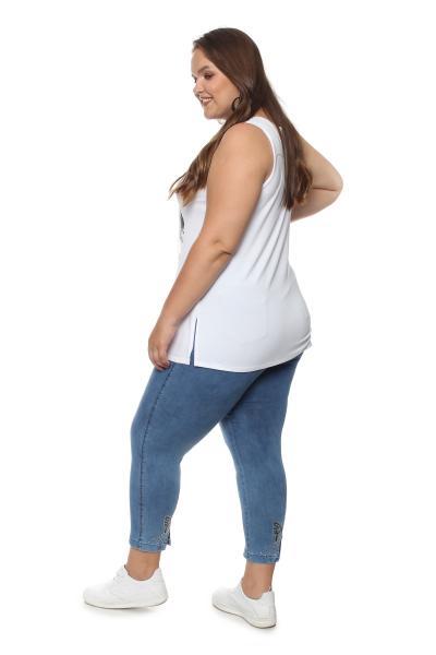 Артикул 703944 - джинсы большого размера