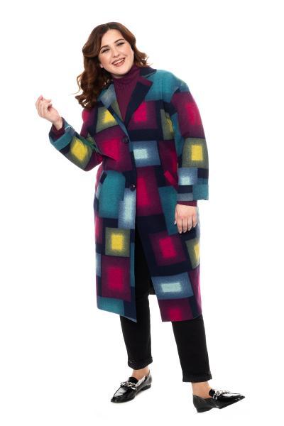 Артикул 20615 - пальто большого размера