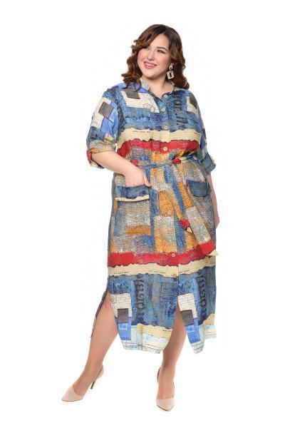 Артикул 20704/715 - платье большого размера