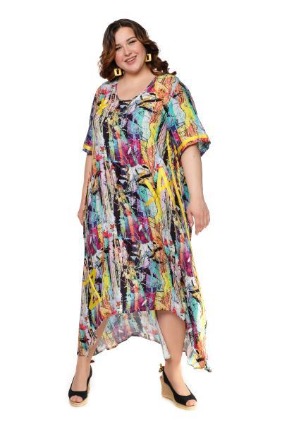 Артикул 703834 - платье большого размера