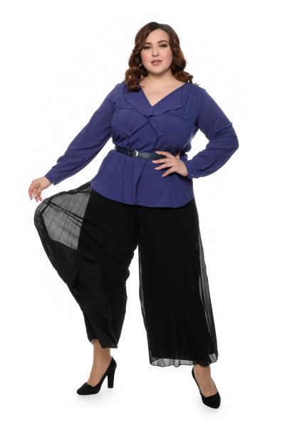 Артикул 700302 - юбка-брюки большого размера