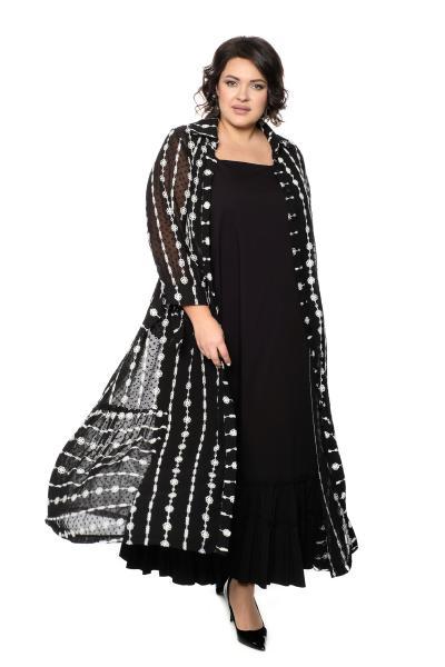 Платье с кардиганом за 13500 рублей