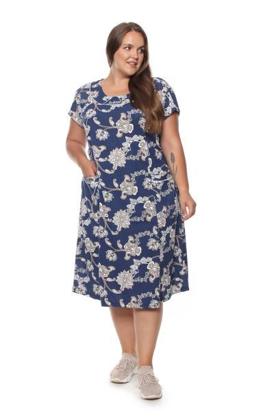 Арт. 2859 - Платье домашнее