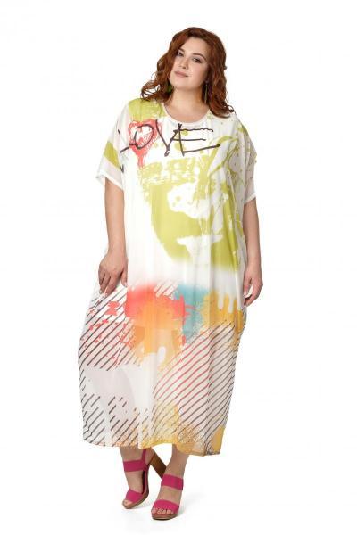 Артикул 508117 - платье с сорочкой большого размера