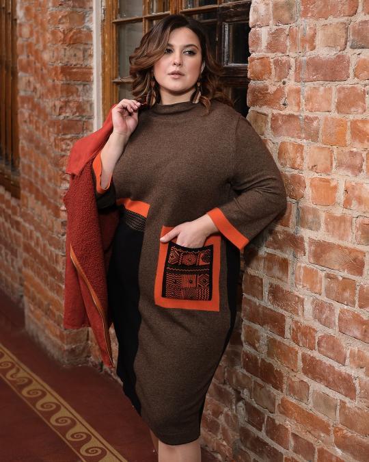Еще одно платье в коллекции уютных зимних новинок!