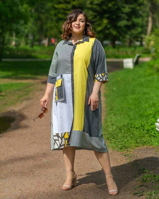 Подборка нестандартных платьев от Naturaxl.ru