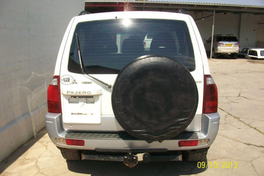 Mitsubishi Pajero DID in