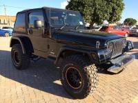 Jeep Wrangler in