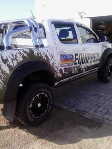 Toyota Hilux Facelift in