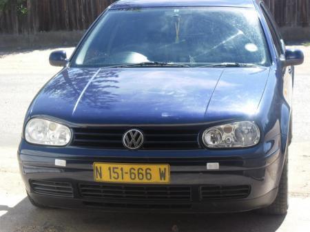 Volkswagen Golf MK4 in