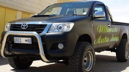 Toyota Hilux D4D SRX in