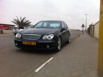 Mercedes-Benz C class C55 V8 AMG in