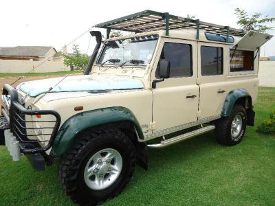 Land Rover Defenter in