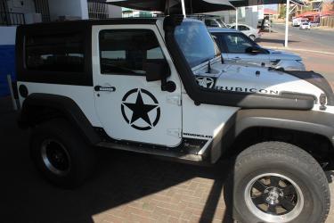 Jeep Wrangler Rubicon in