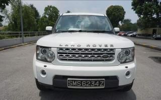 New Land Rover Discovery 4 in