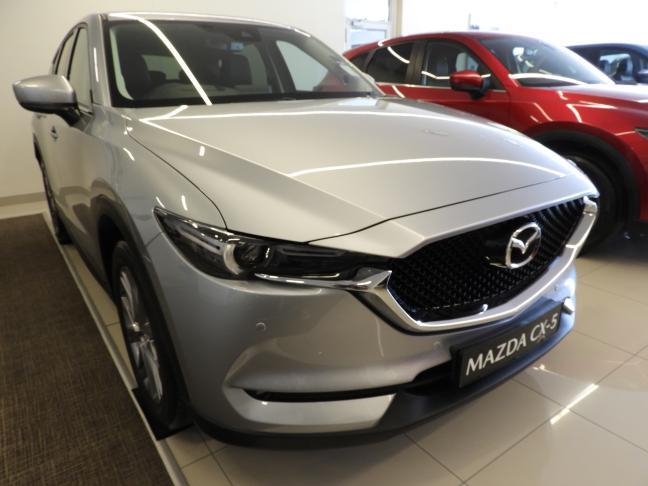 New Mazda CX-5 in