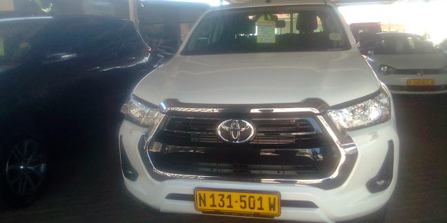 New Toyota Hilux in